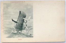 Litho Illustrateur SCOLIK LEDERMANN Collection Chic 67 Coquin Bas Et Jambe De Femme Dans Fauteuil Plage Ange Amour - Scolik, Charles