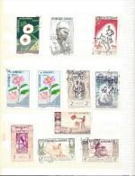 Lot De 10 Timbres De DAHOMEY Oblitérés - Voir Scan - Dahome (1899-1944)