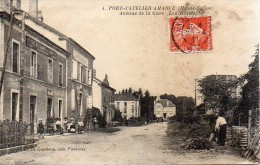 70 PORT-d'ATELIER-AMANCE  Avenue De La Gare , Les Hôtels - France