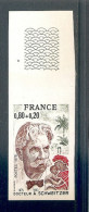 NON DENTELE NEUF** SANS CHARNIERE.N° 1824 - France