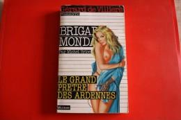 Livre Poche Brigade Mondaine N°115 Le Grand Pretre Des Ardennes - Brigade Mondaine