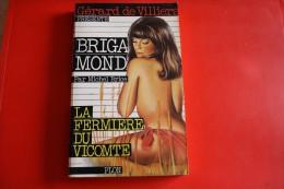 Livre Poche Brigade Mondaine N°22 La Fermiere Du Vicomte - Brigade Mondaine