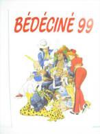 UNE CARTE POSTALE BD8 BEDECINE ILLZACH 99 - Belgique