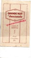 87 - LIMOGES - MENU SALONS DE LA PREFECTURE - 8 DECEMBRE 1951 - Menus