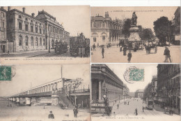 LOT DE 60 CPA DE LA VILLE DE BORDEAUX - Postcards