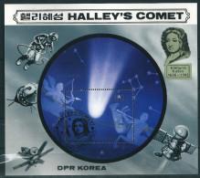 1969 Korea Space Astronomy Star System Satellite Astronaut Halley Comet S/S Used - Astronomy