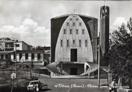 LAZIO-ROMA-VITINIA VEDUTA CHIESA GESU' AGONIZZANTE (16) - Altre Città