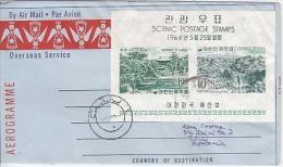 Korea Airmail Cover To Romania    (Z-9629) - Corea Del Sud