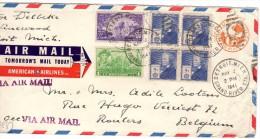 1941 VAN US NAAR BELGIE - Covers & Documents