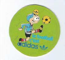 Autocollant Années 80 Adidas Football - Autocollants