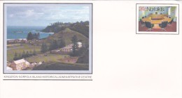 Norfolk Island,1981 Views,Administrative Centre, Pre Stamped Envelope 003  Mint - Norfolk Island