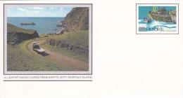 Norfolk Island,1981 Views,The Jetty, Pre Stamped Envelope 005  Mint - Norfolk Island