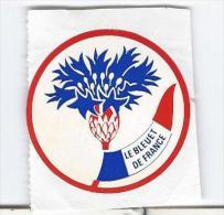 Autocollant Années 80 Le Bleuet De France - Stickers