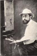 MAISON NATALE D'HENRI DE TOULOUSE LAUTREC ALBI PHOTO PORTRAIT DE L'ARTISTE DANS SON ATELIER - Peintures & Tableaux