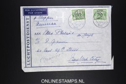 Netherlands: Airmail Cover 1941  Sneek Via Lisboa Per Clipper To  USA  NVPH 366 + 357 Censored - Periode 1891-1948 (Wilhelmina)