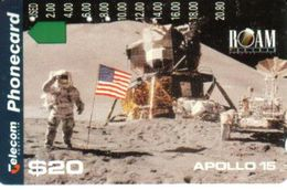 AUSTRALIA $20 APOLLO I5 LAND ROVER ASTRONAUT 25 YEARS SPACE AUS-193 MINT PRIVATE ISSUEREAD DESCRIPTION !! - Australie