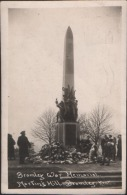 RP PC: The War Memorial, Bromley, Kent Used 1922 To Usa 11/2d Stamp - Other