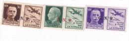 Italy 1944 War Propaganda  Set 3 Mint Hinged  Stamps - Mint/hinged