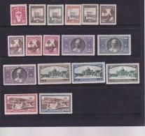 Vatican City 1933 Definitives  Mint Never Hinged, No Lire 2 - Vatican