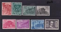 Vatican City 1949 Basilicas Set Mint Never Hinged - Vatican