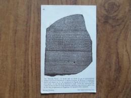 42861 PC:  MUSEUMS:  BRITISH MUSEUM: The 'Rosetta Stone'. - Museum