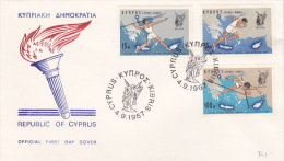 Cyprus 1967 Sports FDC - Unclassified