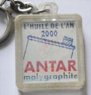Porte-clefs Keychain Portachiavi  Visiomatic Huile ANTAR Garage Du Syphon Marseille - Porte-clefs