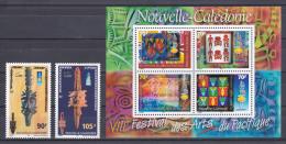 New Caledonia - Nouvelle Caledonie - 2000 - ( 8th Pacific Arts Festival ) - Set & S/S - MNH (**) - Nueva Caledonia