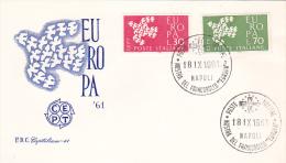 Italy 1961 Europa Europa FDC - Unclassified