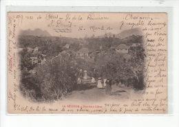 LA REUNION - CILAOS - Une Rue à Cilaos - état - La Réunion