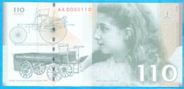 Germany. No Value Specimen. Mercedes 110 Years. (ZIN Belgrad) 2006. 7,8X16,3 Cm. - Germany