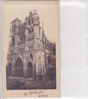 Amiens Photo De La Cathédrale D'Amiens En 1875 - Fotografía