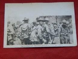 MILITARIA  -  Les Premières Troupes Américaines Débarquées En France En Juin 1917  - (2 Scans) - War 1914-18