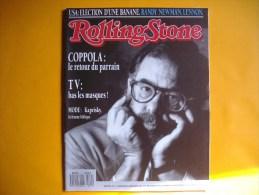 ROLLING STONE  -  N° 11  -  Novembre - Décembre 1988 -  COPPOLA  -  KAPRIKY  - - Musique