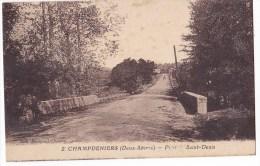 CHAMPDENIERS. - Pont De Saint-Denis - Champdeniers Saint Denis