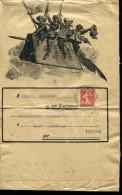FRANCE - SEMEUSE CAMÉE N° 138 SUR BANDE DE JOURNAL DE PARIS 22, LE 1/11/1908 POUR ST. MARCELLIN - TB - 1906-38 Säerin, Untergrund Glatt