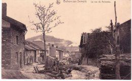 BOHAN-sur-SEMOIS -la Rue Du Ruisseau -  Laveuse De Linge - Belgio
