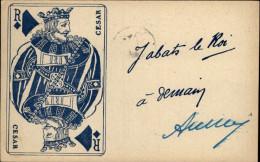 JEUX DE CARTES - César - Roi De Carreau - Playing Cards