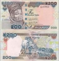 Nigeria - 200 Naira 2007 AUNC+  Ukr-OP - Nigeria