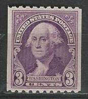 USA. Scott # 722 MH. Washington 1932 - Rollenmarken