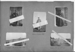 1918 Compiègne Oise 1919 Cesson Seine Et Marne Camp Poste De Tsf 8ème Génie Radio Télégraphistes 5 Photos 14-18  Ww1 Wk1 - War, Military