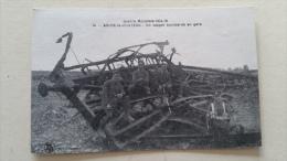 59 Solre Le Chateau , Guerre Mondiale 1914-18 , Un Wagon Bombardé En Gare - Solre Le Chateau