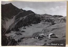 Courmayeur Plan Checrovit Non Viaggiata - Italia