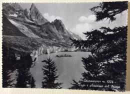 Courmayeur Lago E Ghiacciaio Del Miage Non Viaggiata - Altre Città