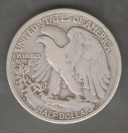 STATI UNITI HALF DOLLAR 1934 AG SILVER - Emissioni Federali