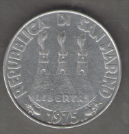 SAN MARINO 100 LIRE 1975 - San Marino