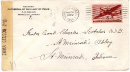 1945 Stempel Honolulu - Covers & Documents
