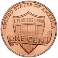 Rare Dans Delcampe : Pièce 1 One Cent US Etats Unis United States Of America De 2012 - E PLURIBUS UNUM Sur Blason - Monnaies