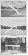 Longwy La Ville Fortifiée Détruite Par 30000 Obus Allemands 7 Cartes Américaines 1914-1918 14-18  Ww1 Wk1 - War, Military