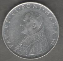 VATICANO 100 LIRE 1965 - Vaticano